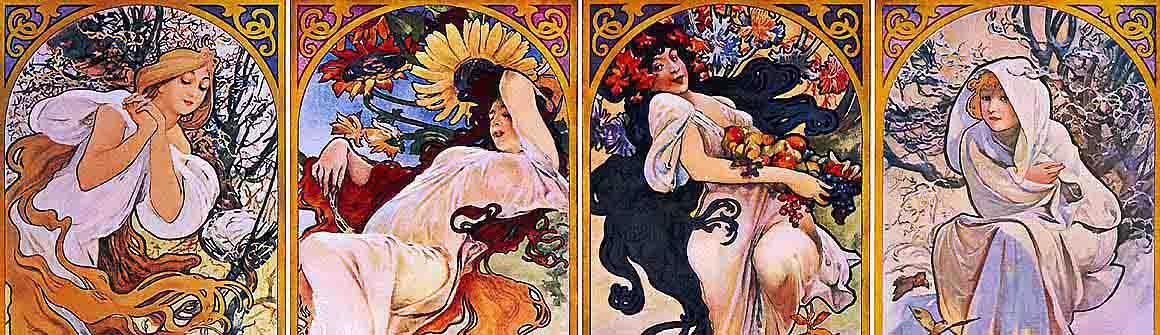 Artyści - Alfons Mucha